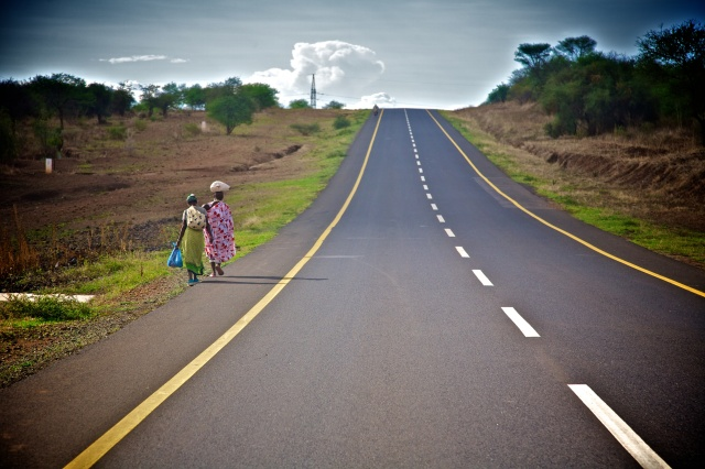 Road to Ngorogoro